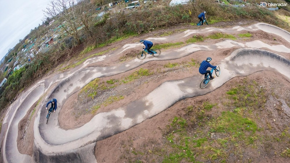 The pump track is a great place to work on your bike skills and have fun