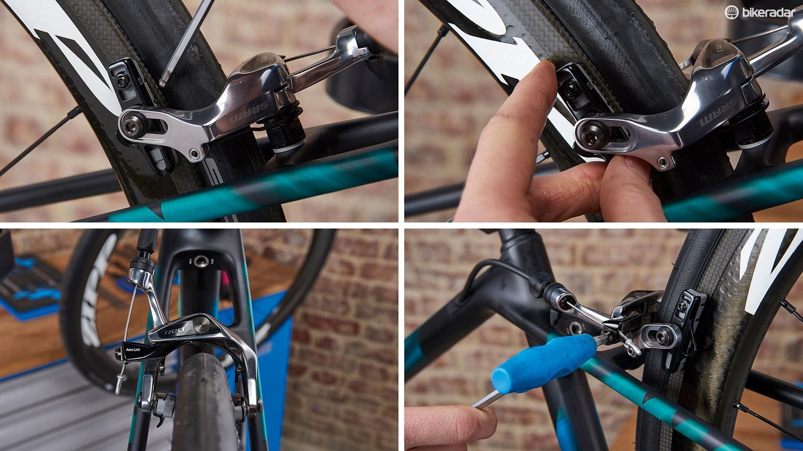 Six simple steps to setting up rim brakes