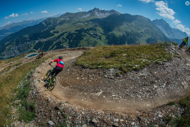 Make the most of the apline descents but don't forget to respect the terrain