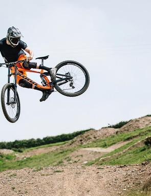 How to whip a mountain bike