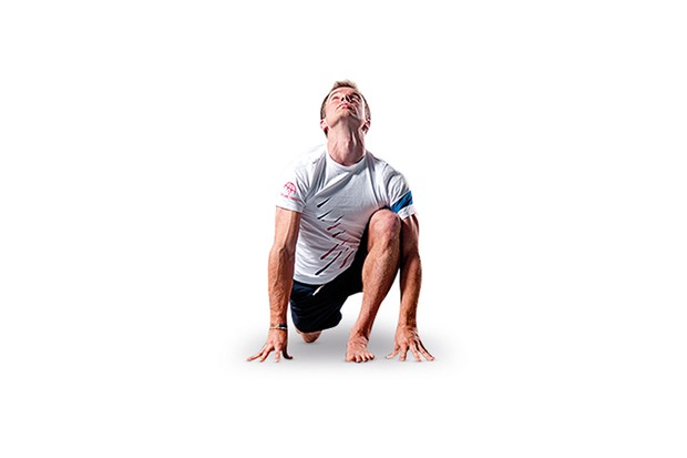 Learn to lunge and stretch out your hip flexors