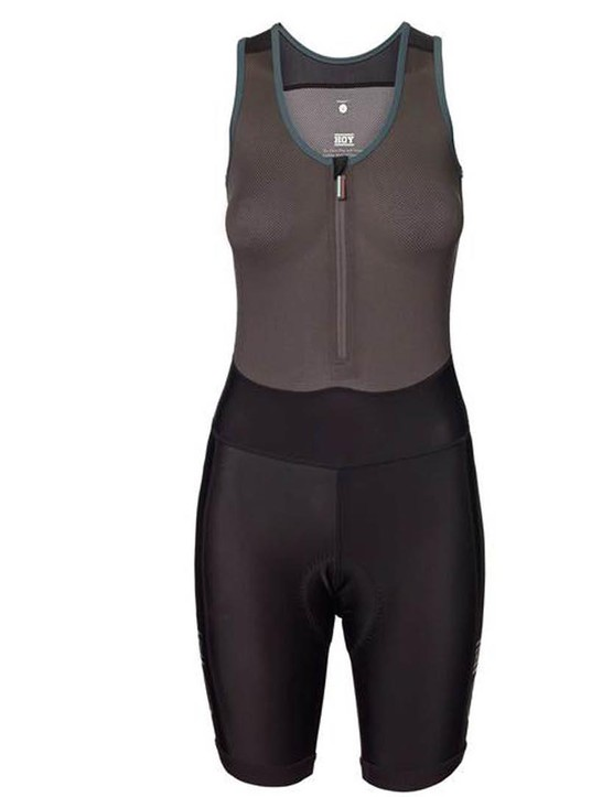 The Hoy Vulpine bib shorts have a breathable mesh baselayer incorporated into them