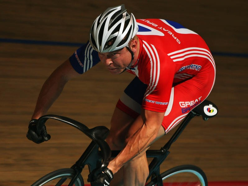 World and Olympic Cycling Champion Chris Hoy