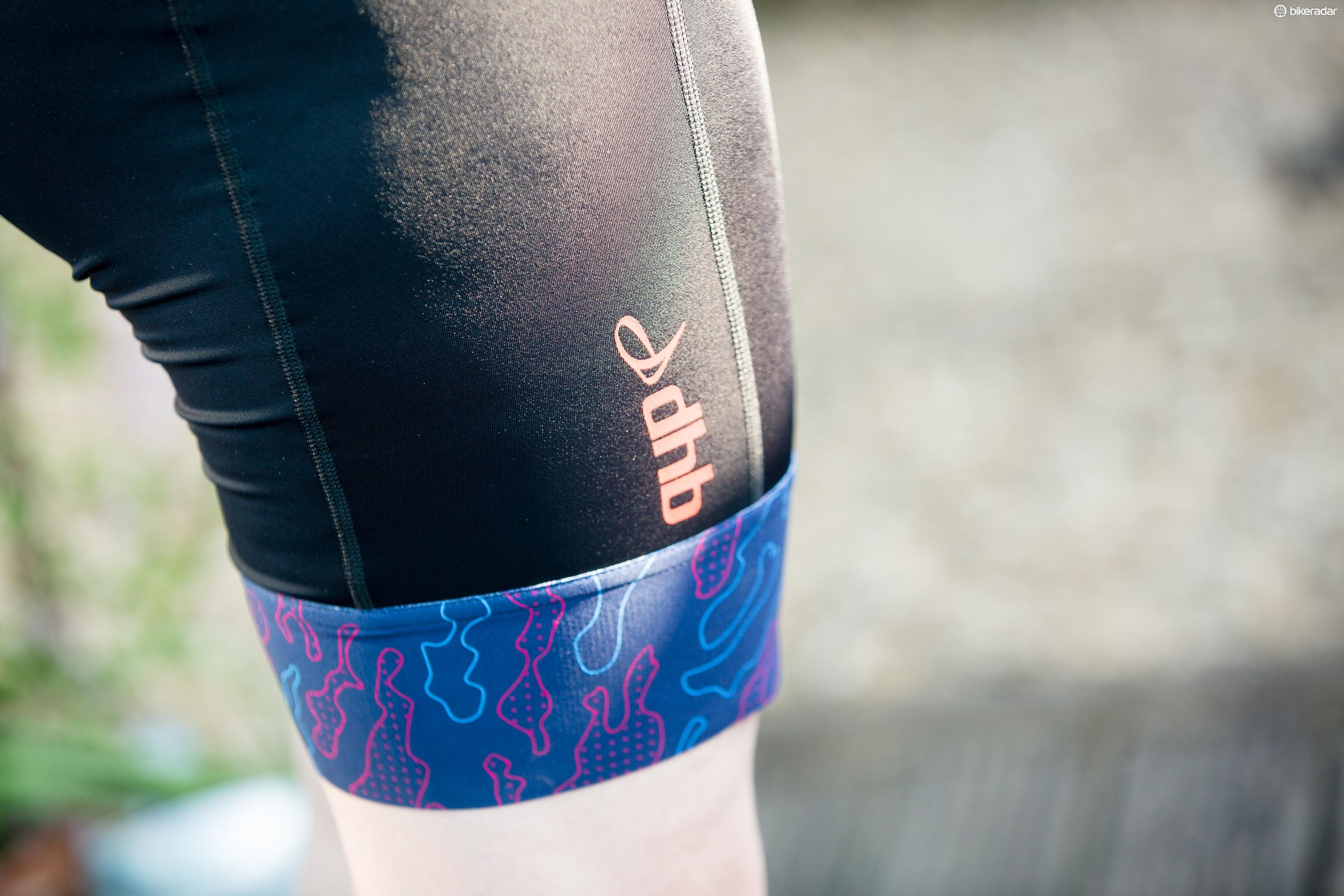 The sillicone leg grippers are comfortable and fitted well