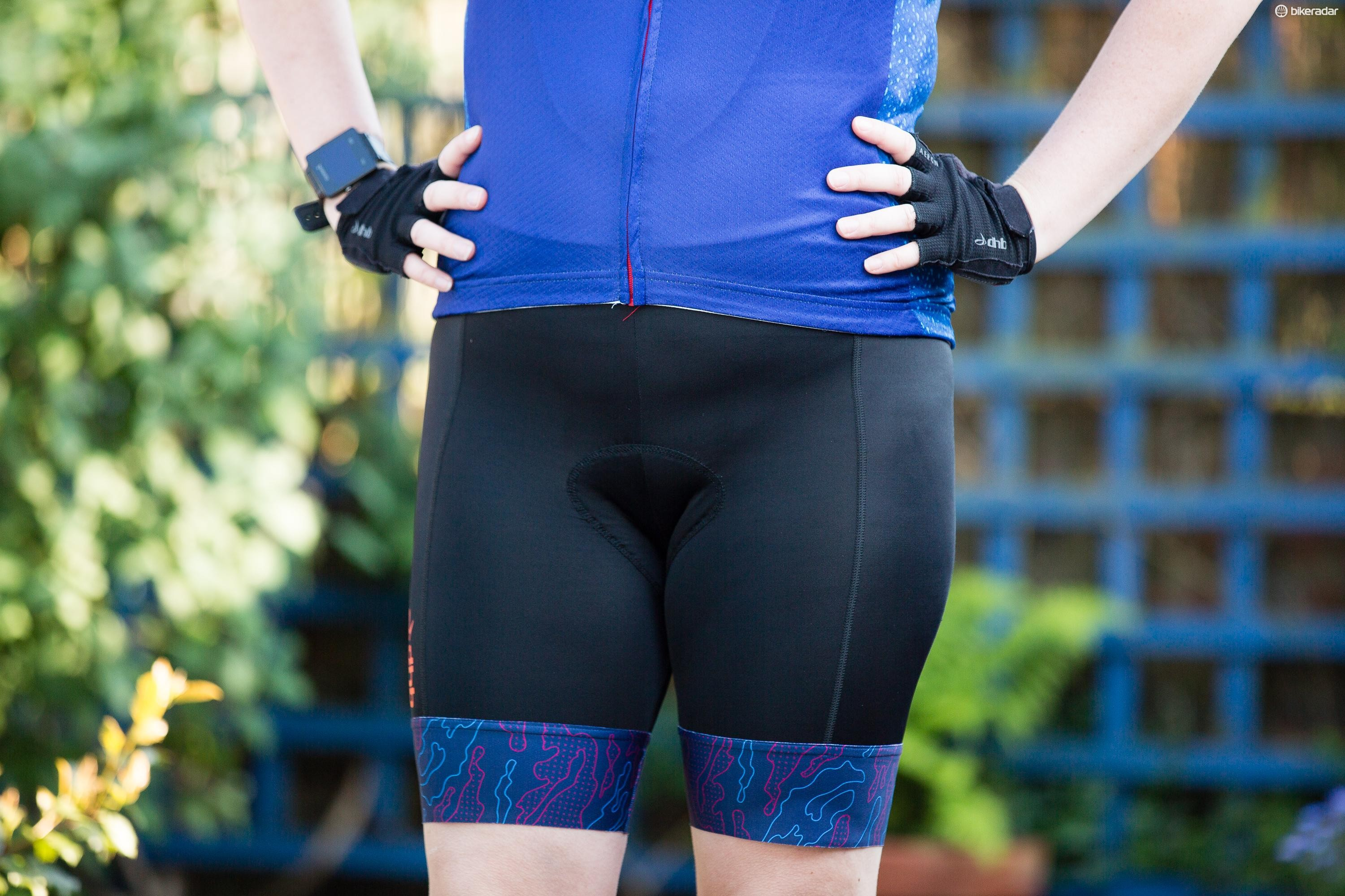 The main body of the shorts, excluding the straps, has UPF 50+ protection