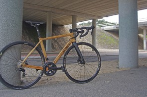 HTech's bikes are wooden race bikes made with Australian hardwoods