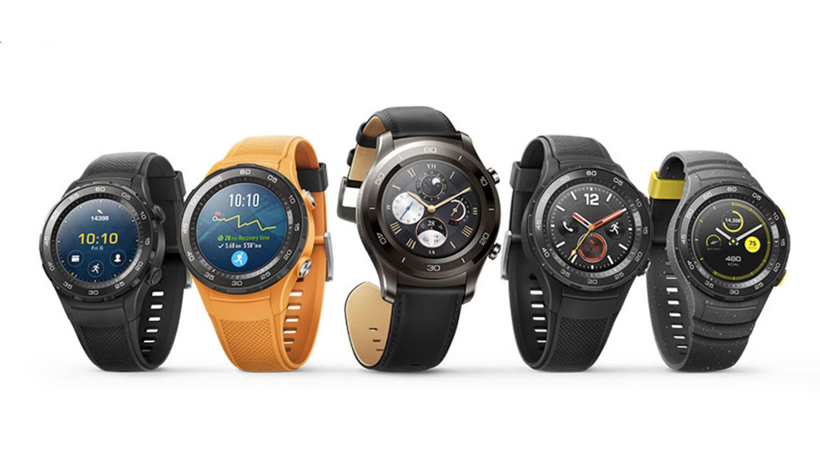 The Huawei 2 packs heavy tech into a light smartwatch