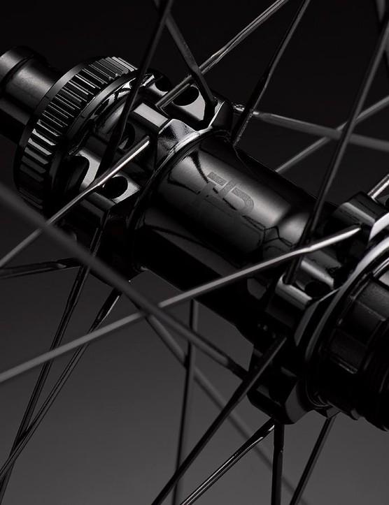 Black Inc Thirty wheels feature CeramicSpeed bearings in the hub