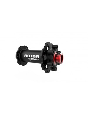 The front version of Rotor's RVOLVER MTB hub
