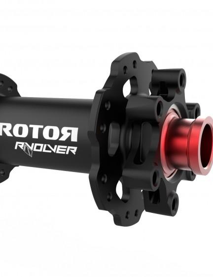 The front version of Rotor's RVOLVER MTB hub