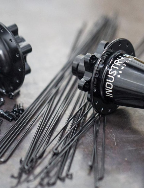 Reserve wheelsets are built around DT Swiss and Industry Nine hubs