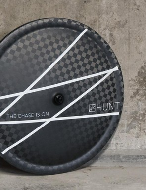 Hunt is developing a tubeless disc wheel