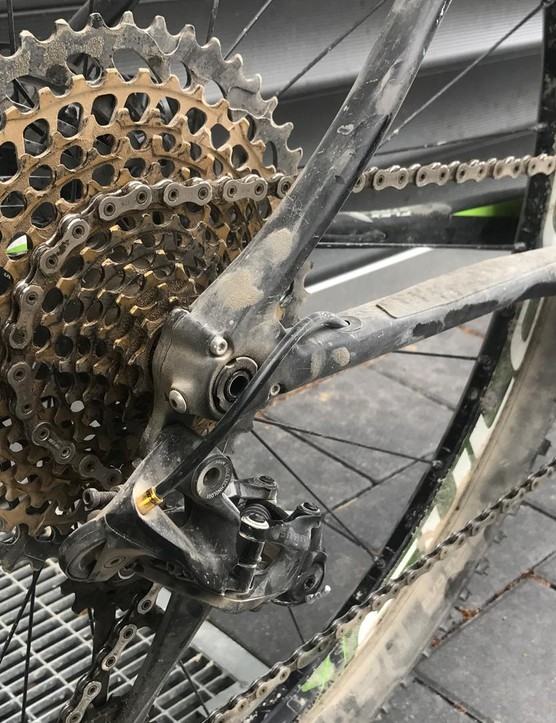 I'm impressed with the SRAM Eagle groupset