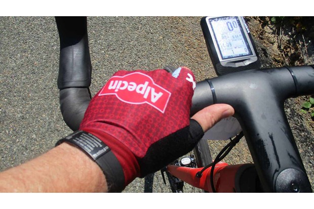 These gloves were made for walking…