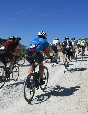 We can't wait to see the pros hit the gravel