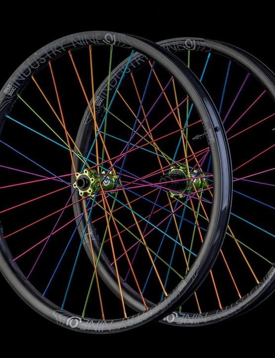 The new PillarCarbon BC360 wheelset