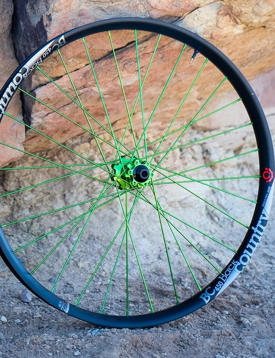 The Industry Nine 450 Plus Wheelset is stiff with rapid freehub engagement
