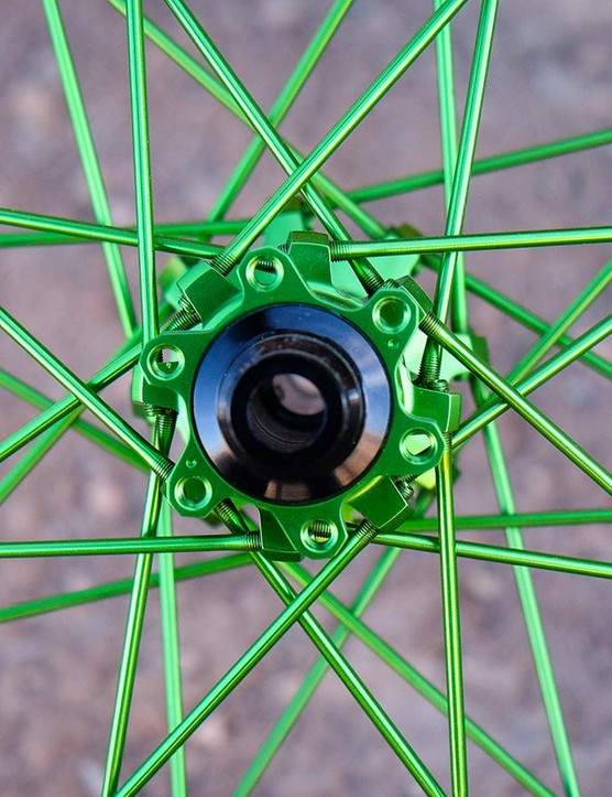 Industry Nine's colorful wheelsets are rideable art