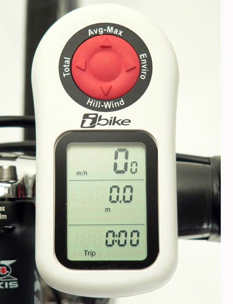 … with the new iBike Aero to display directly-measured power as well as drag coefficients.