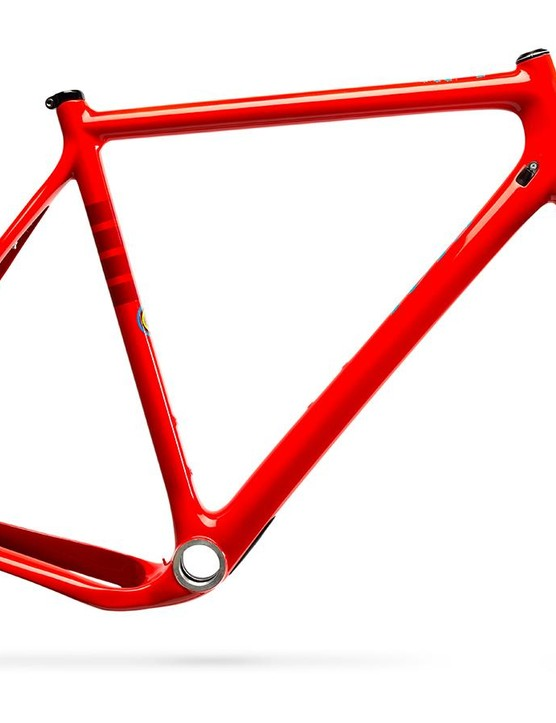 The Hakka MX will be available as a frameset and as a complete bike