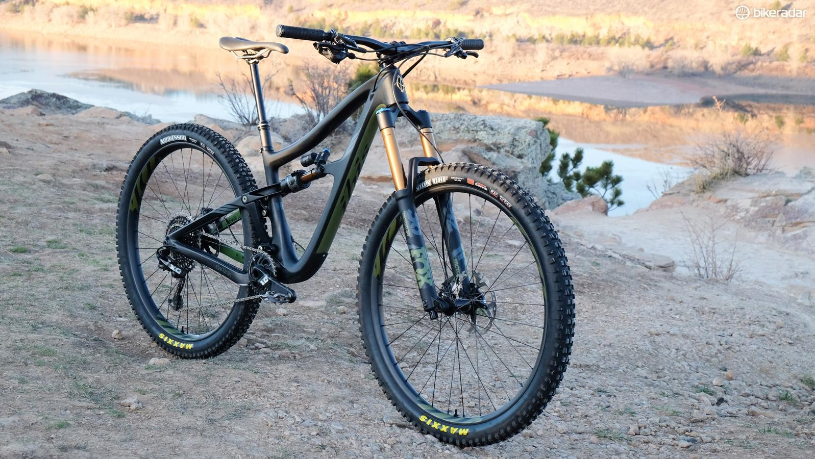 The Ripmo is Ibis's take on a long-travel 29er