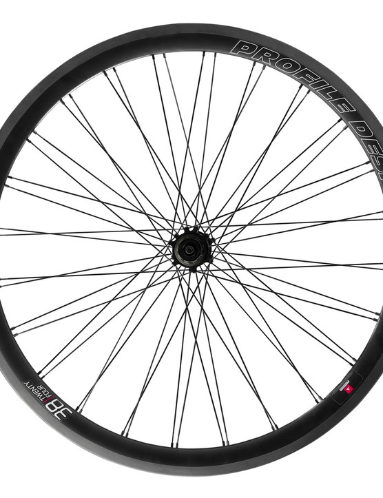 iceBike* attendees will be among the first people in the UK to see the disc brake version of Profile Design's 24 series carbon wheels