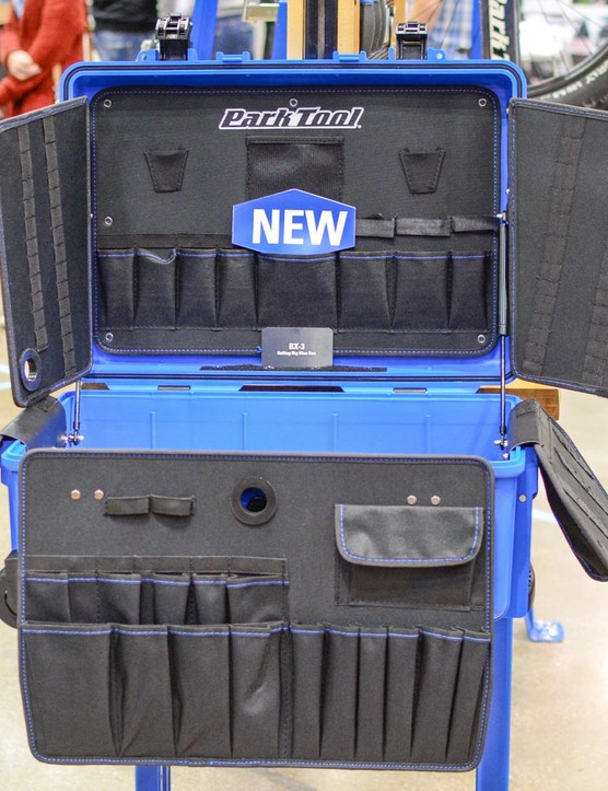 Park Tool's new BX-3 is designed for pro mechanics who need to carry a lot of tools