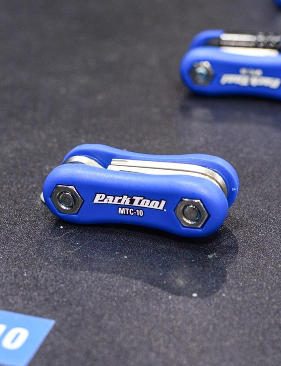 Park Tool also brought along a selection of new compact multitools