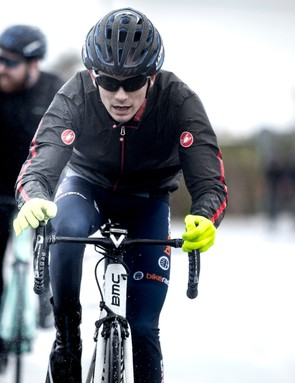 The Idro was a life-saver at the freezing and wet Shimano Dura-Ace press camp last January