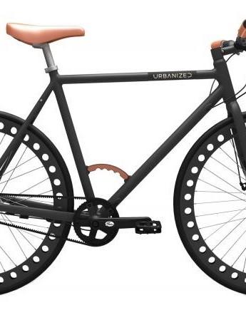 The Urbanized Gents' Bike in Graphite