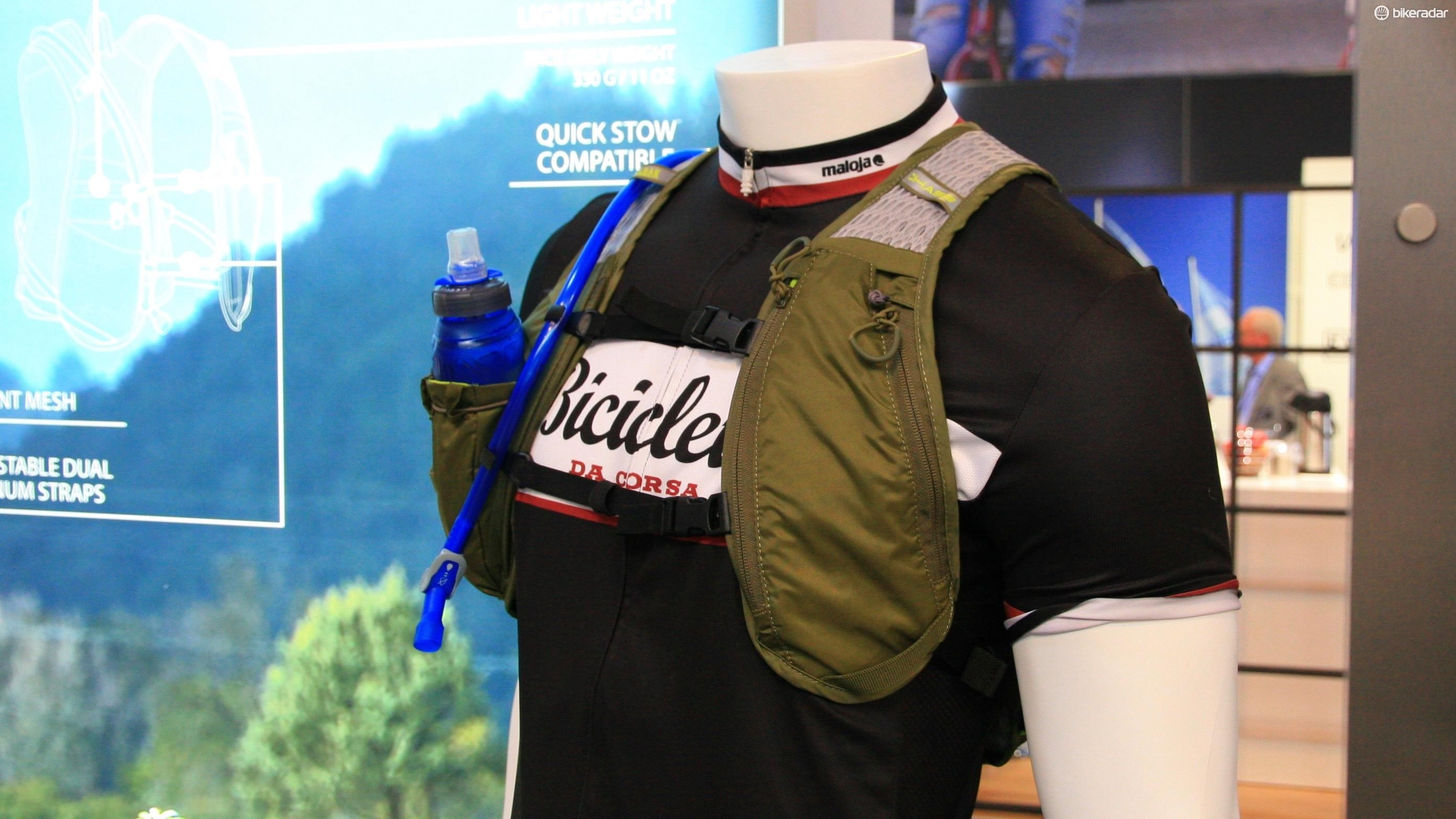 There's a little bit of storage in the new Chase Bike Vest for keys, money and gels