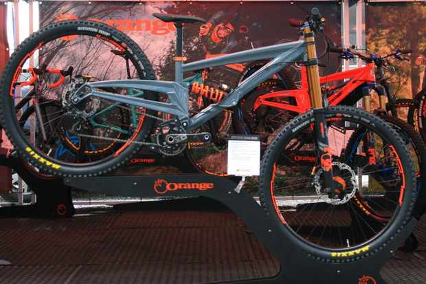 Orange is joining the 29er DH party with its prototype Strange DH29