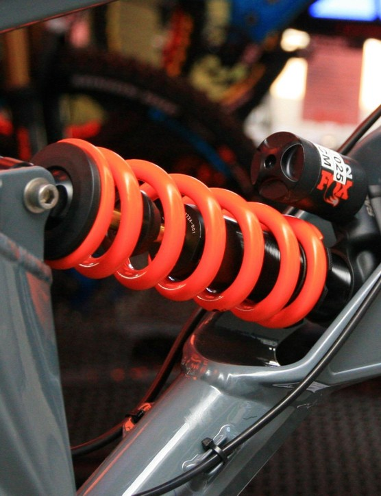 While some companies use air shocks for tunability and weight, Orange has stuck with a good old coil shock to control the back end