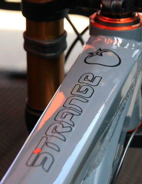 Strange – Orange's prototype division – often puts out bikes we'll see in the months to come