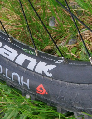 Spank has moved its foam-filled alloy Vibrocore tech from bars to rims, to give a touch of damping to the rims for a more comfortable ride