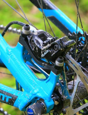 Everything halts thanks to SRAM Guide RS brakes
