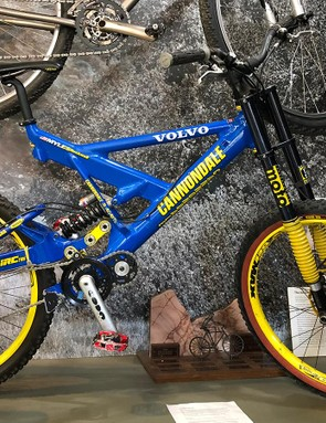 Myles Rockwell's 1998 Cannondale Fulcrum DH Team