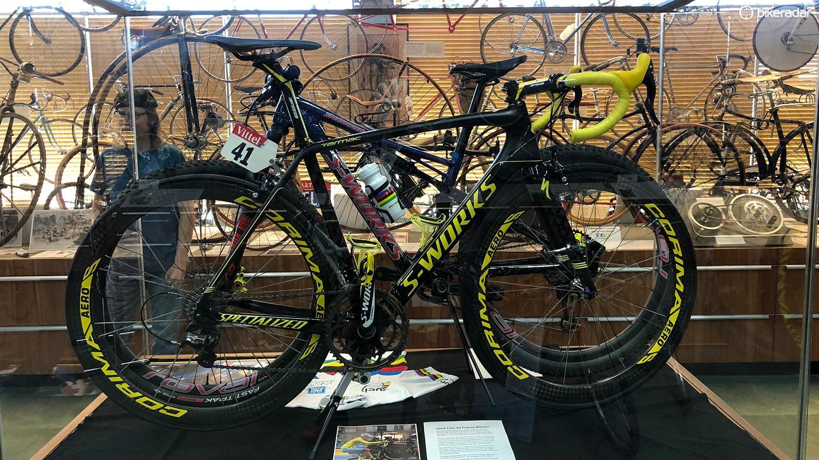 Vincenzo Nibali's 2014 Tour-de-France-winning S-Works Tarmac