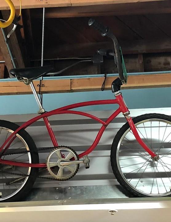 Mountain-biking pioneers used old Schwinn frames for prototype mountain bikes, dubbing them 'Clunkers'