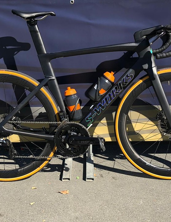 The Specialized S-Works Venge I used for the Sagan Fondo