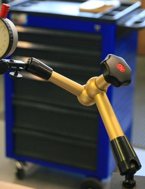 Precise measuring tools are used throughout development processes
