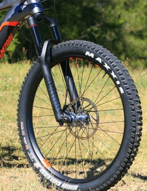 Big plus tyres offer ample grip in most conditions