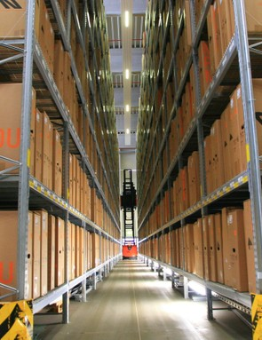 The scale of Canyon's warehousing is astonishing