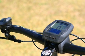 The Bosch screen is pretty big, but Lapierre has built this rubber protector, which will also be available aftermarket