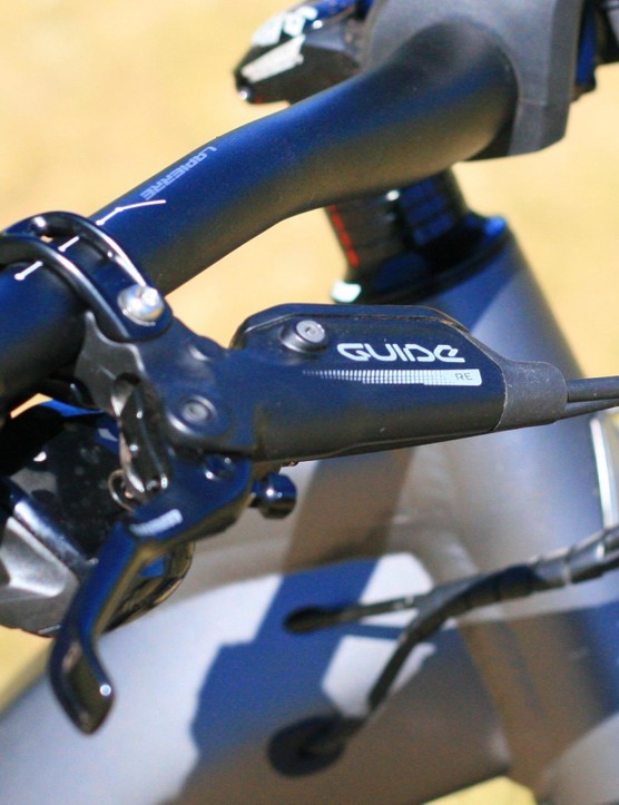 SRAM Guide RE brakes are popular on e-bikes