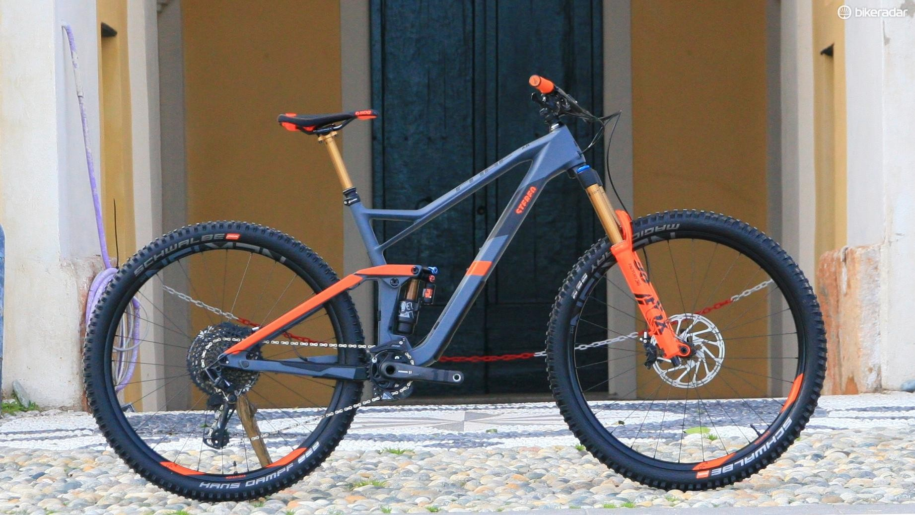The Cube Stereo 150 29 is a bike built for one purpose in mind — the EWS