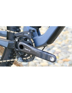 SRAM's GX Eagle 12-speed group is joined by a carbon crank