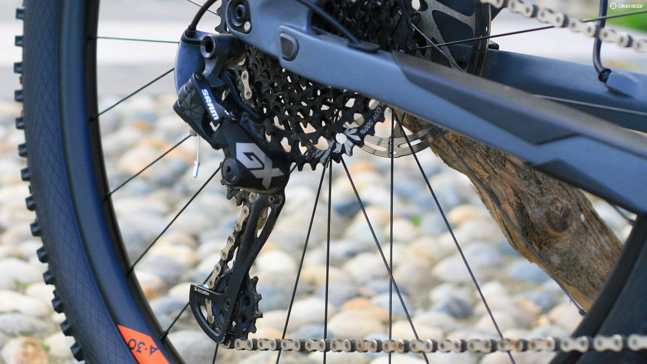 SRAM GX Eagle is proving a popular choice with product managers