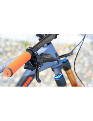 The SRAM Code R brake is a powerful stopper