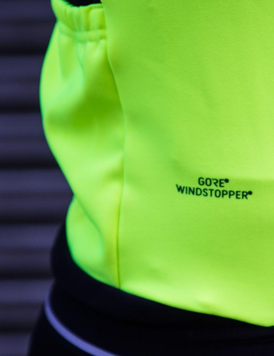 A combination of Gore Windstopper and NoRain Thermal inserts ensures protection from the elements in a range of conditions
